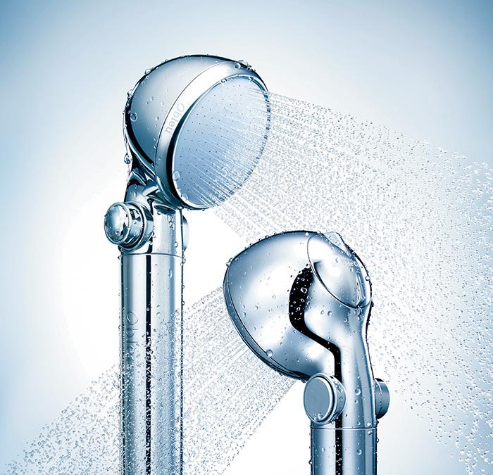 ダイヤルを調節することで、給水圧にかかわらずマイクロバブルを安定して供給。
