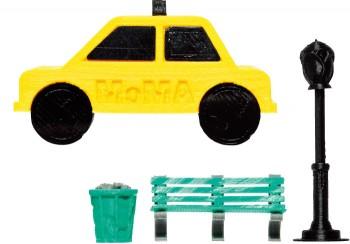 イエローキャブやセントラルパーク等NYの光景をフィギュア化! 〈MakerBot NYC シリーズ〉各¥840( MoMA DESIGN STORE,GINZA☎03・5568・7821)※MoMA銀座店1/31まで期間限定