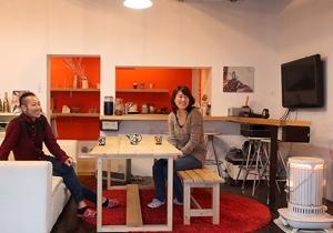 大正時代の家を自らリノベーション、 自分たちらしい空間をつくる。
