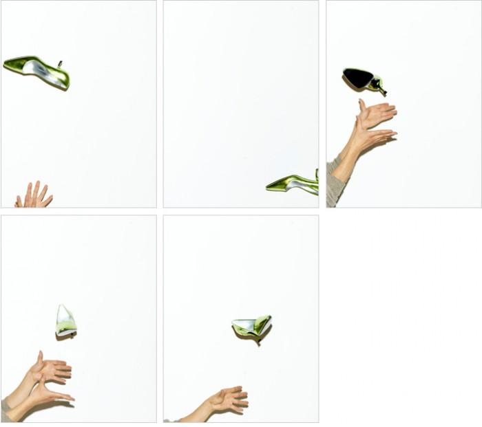 トビラ写真で華麗に靴が飛んでいますが、何回も何回もこんな努力が…。