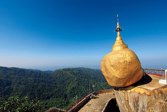 ヤンゴン/チャイティーヨー山