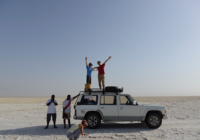 あと、砂漠で気づいたたもうひとつのこと。電波もWi-Fiもないって生活……ストレスどころか、超ストレスフリーでした。