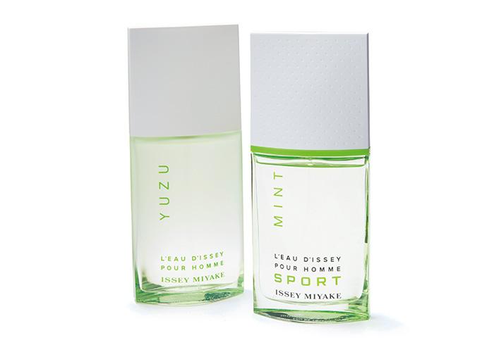 グリーンのボトルが涼しげな〈ISSEY MIYAKE〉のメンズ香水。