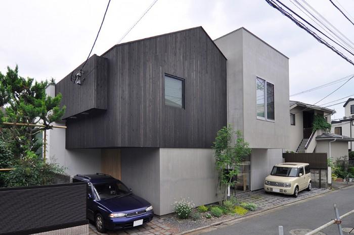 理想的な形の3世帯住宅 空間の増減もカスタマイズも可能な快適空間。