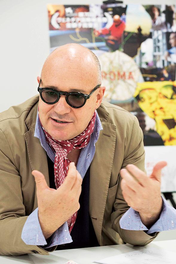 ジャンフランコ・ロージさん