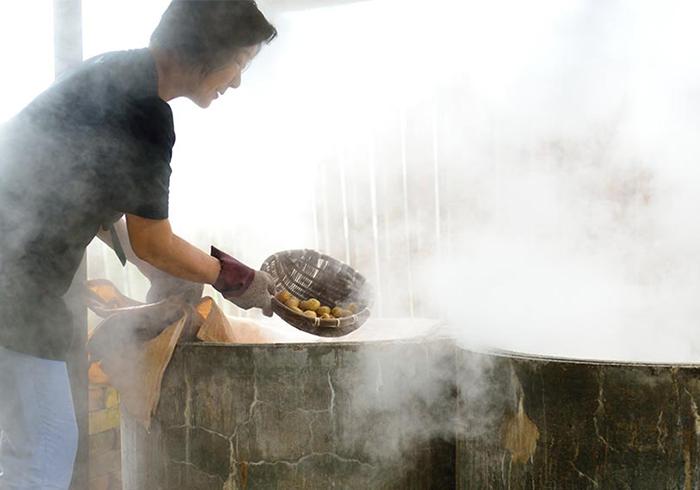 【貝印×コロカル】温泉地熱食品 地熱たべもの研究所 Part1