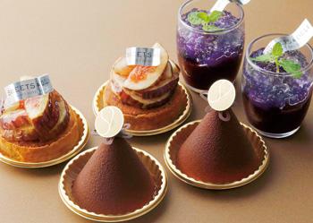 パレスホテル東京「Sweets & Deli」の秋季限定スイーツ