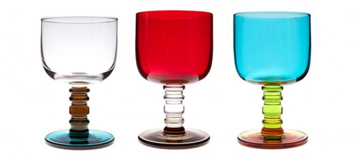 ティータイムが楽しくなる カラー&デザイングラス。