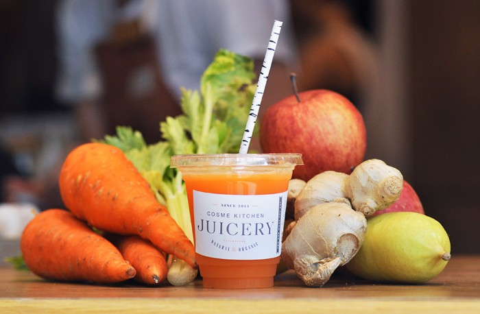 「Cosme kitchen JUICERY」で味わうスーパーフードドリンク。