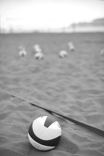 8月15-17日に行われたビーチバレー・ジャパンでは、惜しくも準優勝だった清水&畑辺ペア。次こそは優勝を! 写真・村上未知