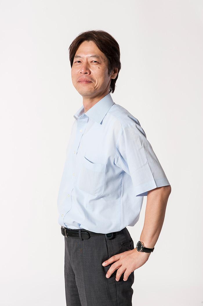ストレッチの第一人者、竹井先生。