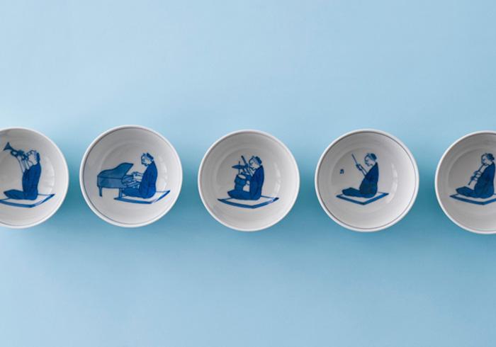 【コロカル通販】上出長右衛門窯 石川県の工芸品、九谷焼「汲出碗」