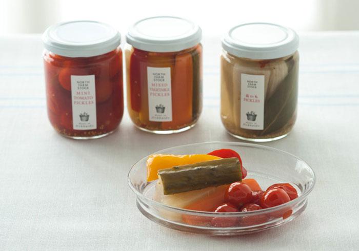 【コロカル通販】北海道でとれた色とりどり野菜の「ピクルス3種セット」
