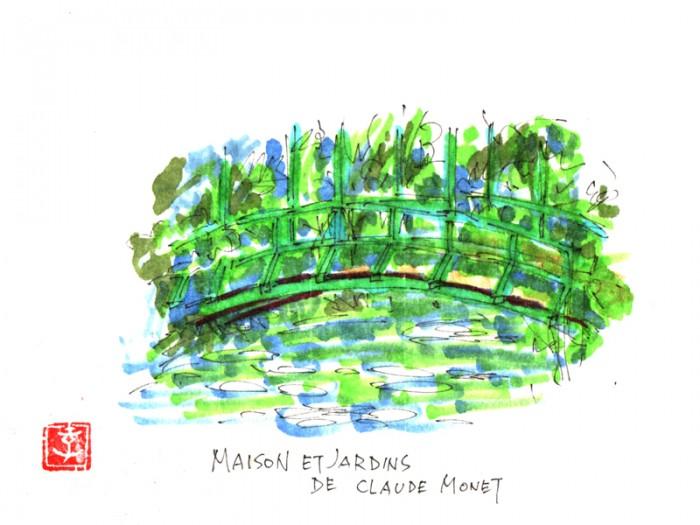 土屋孝元のお洒落奇譚。フランス ジヴェルニー村のモネさんの庭へ。