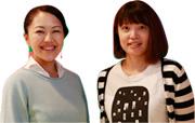 RIGHT: 山崎絵美さん/作業療法士 LEFT: 軽石 茜さん/ダンサー