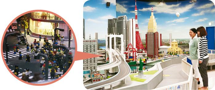 レゴ®ブロックで東京の名所を再現。