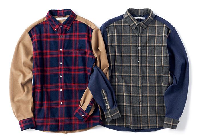 今季デビューのブランドから、ストレスフリーなボタンシャツ。
