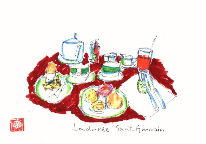 パリ・サンジェルマン。カフェを巡り思うこと。