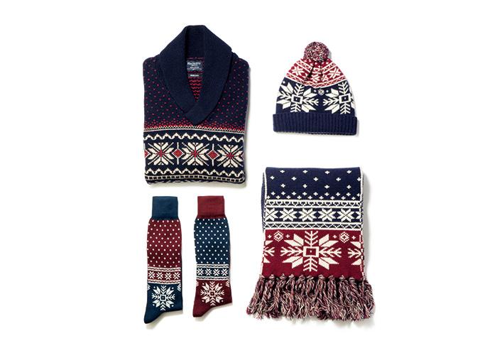 ギフトとしても最適な冬満載のニットコレクション。