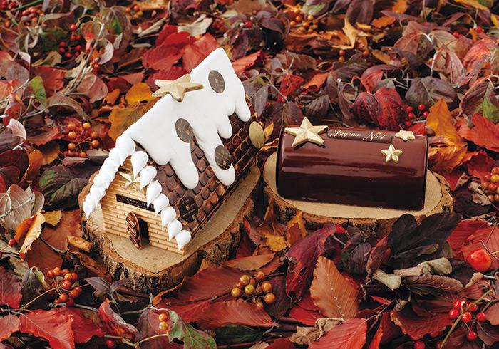 ビュッシュ デクリネゾン チュアオ¥10,000 クリスマスを彩る2つのお菓子がまさかの合体。しかも希少なチュアオショコラづくしとは、幸せすぎます。