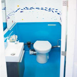 広くてキレイなトイレがウレシイ!