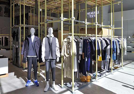 ファッション×ランニング EN ROUTE GINZA