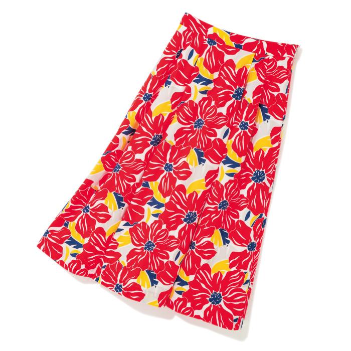 ミドル丈スカート ¥32,000(サラ&ブレッド/ピーチズ・アンド・クリーム☎03・6849・4182)