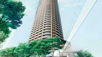 Club Hanako : News! ガーデンの中に暮らす、 53階建タワーマンション お隣には商業施設も♪