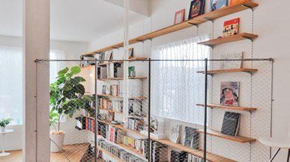 空間構成を楽しむ スキップフロアの家