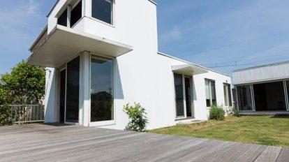 住む人が描いていく 家は白いキャンバス