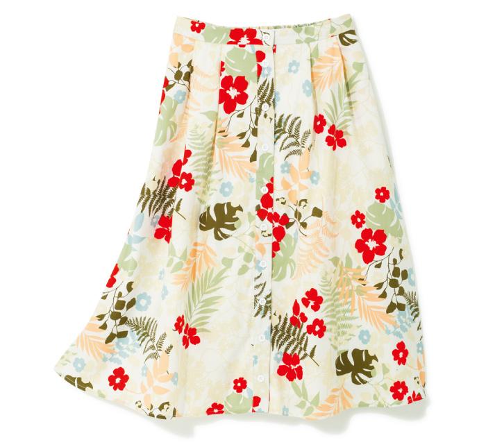 スカート ¥12,000(カージュ/カージュ ルミネエスト新宿店☎03・5312・7597)