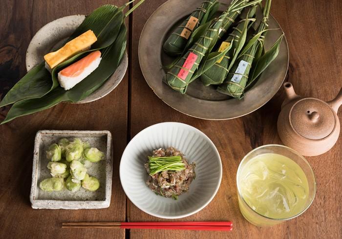 【宝酒造 × コロカル】きょうのイエノミ。緑茶割りと、東京のちまき寿司