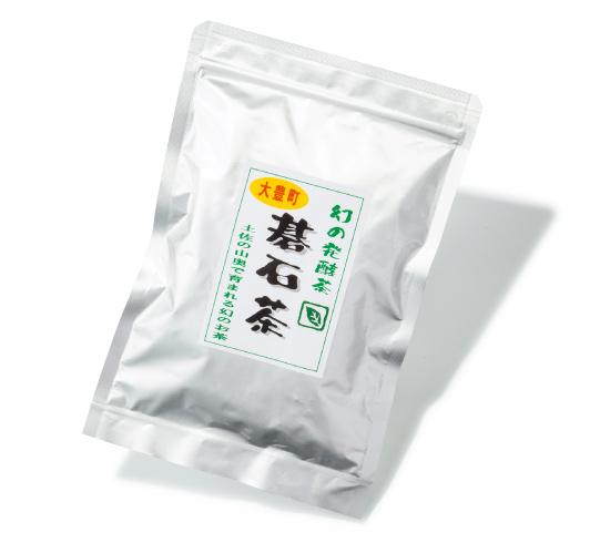 大豊町碁石茶 50g¥1,600(税込み)夢工房☎0887・72・0706