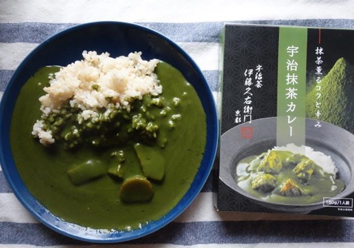 濃緑の抹茶味カレー!? 京都の老舗が「宇治抹茶カレー」を開発