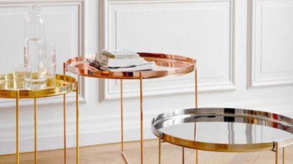 美しく機能する モダンなサイドテーブル