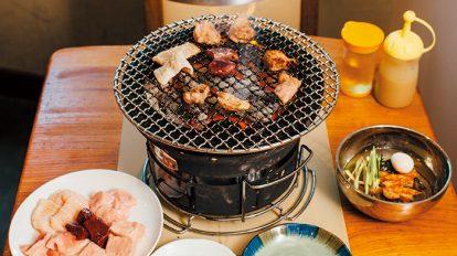 FOOD NEWS vol.68 犬養裕美子の今日、どこで何、食べる? 『炭火マルイチ』のホルモン盛り合わせと素冷メン