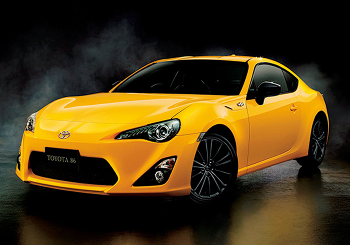 "TOYOTA 86GT""Yellow Limited"""