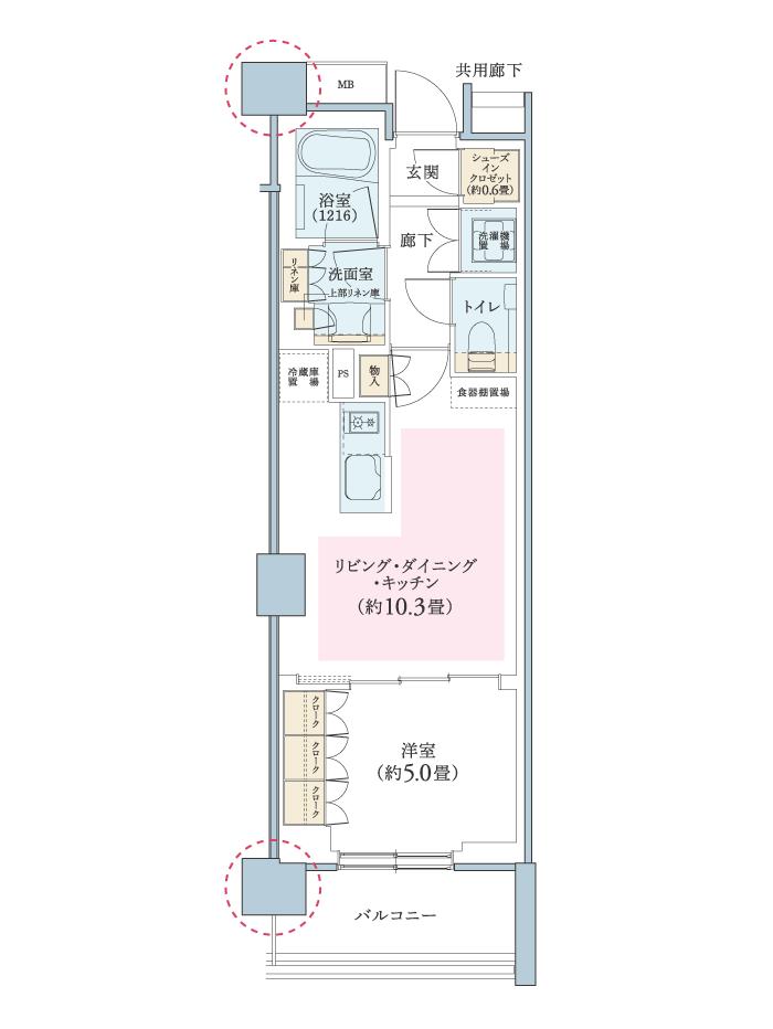 パークホームズ横浜ブロッサムアベニュー。