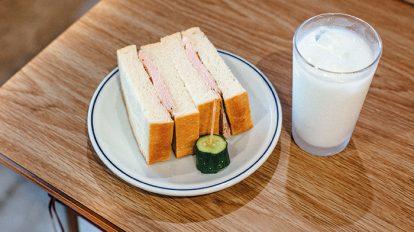 FOOD NEWS vol.71 平野紗季子のMY STANDARD GOURMET 『メガネコーヒー』のハムサンド