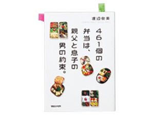 盛り付けの参考に渡辺俊美さんのお弁当本を活用。卵のおかずを入念にチェック。