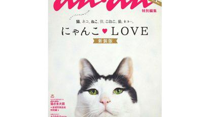 anan猫特集の新装版「にゃんこLOVE新装版」が発売中!