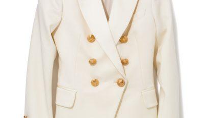 ANTENNA 『バルマン×H&M』のホワイトジャケット