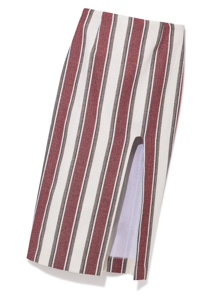 ロングスカート ¥23,000(モーリー アンド イヴ/ジャック・オブ・オール・トレーズプレスルーム☎03・3401・5001)