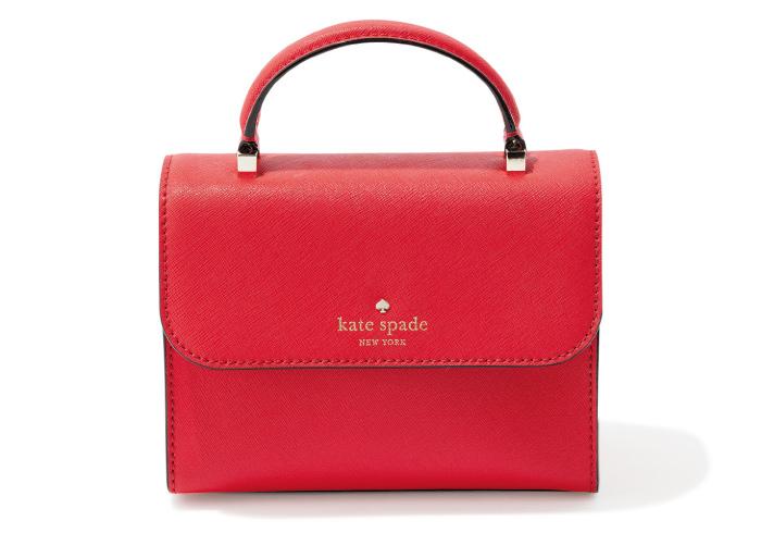 バッグ W18×H13×マチ8㎝¥30,000(ケイト・スペード ニューヨーク/ケイト・スペード ジャパン☎03・5772・0326)