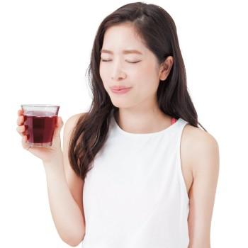 砂糖、甘味料は無添加。ストレート果汁100% 「ほんとうに酸っぱい!」