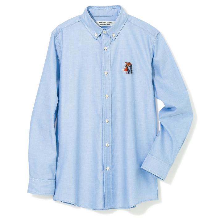 シャツ ¥26,000(ビューティフルピープル/ビューティフルピープル青山店☎03・6447・1869)