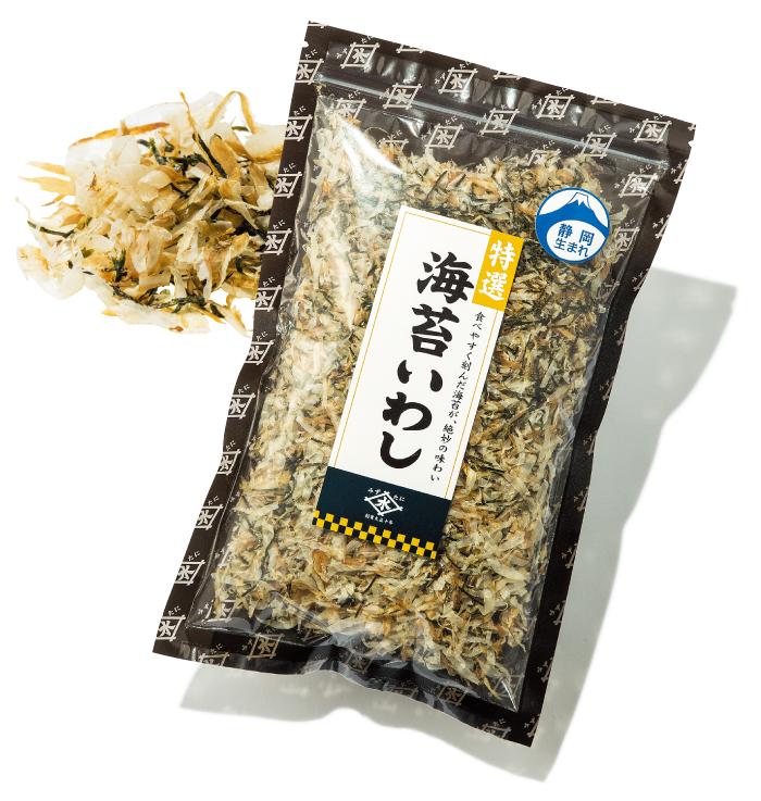海苔いわし ¥380(税込み)水谷商店☎054・385・3027