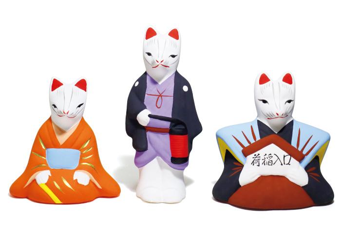 口入人形5,000円*3体1組(荒木神社☎075・643・0651)。