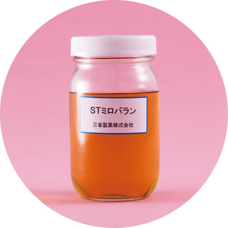 アーユルヴェーダの植物から抽出。コラーゲンとヒアルロン酸の分解を阻止、シワを防ぐ。