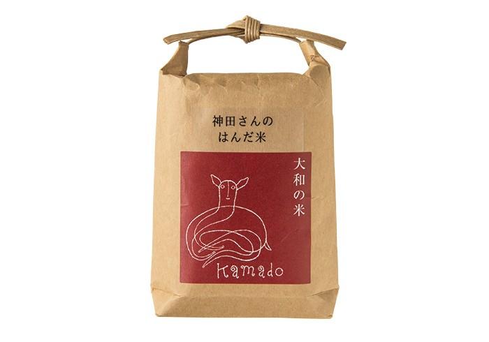 神田さんのはんだ米2合497円はグローサリーで販売。(各税込)